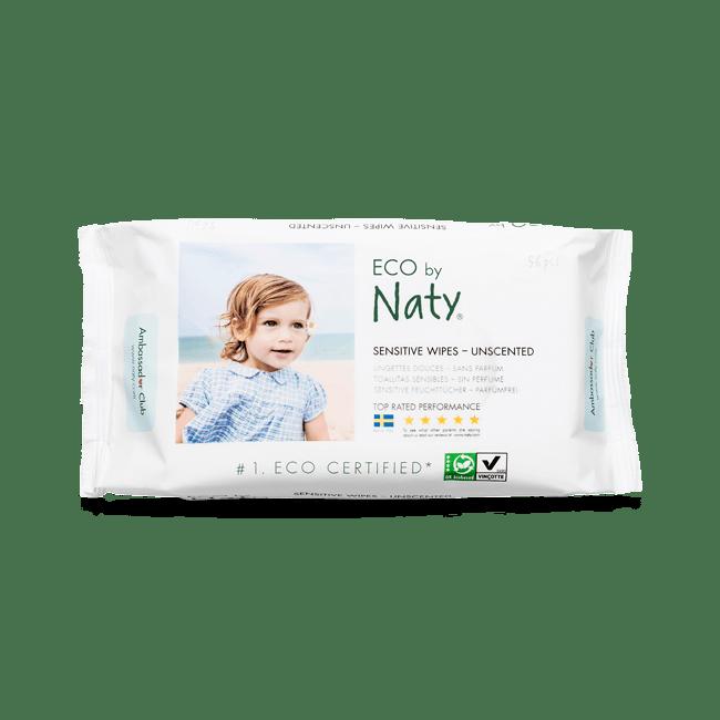 Illatmentes törlőkendő - Naty