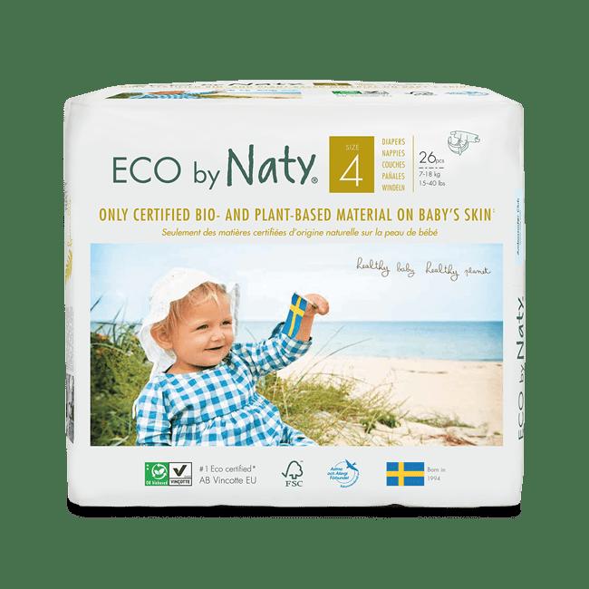 Öko bébi pelenkacsomag 4-es méret - Naty