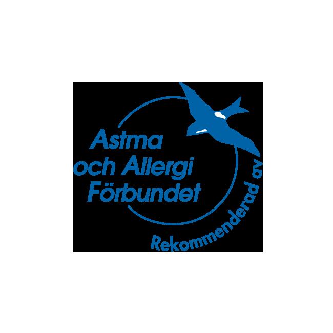 Svéd Asztma Egyesület jóváhagyása - Naty